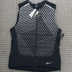 Nike Aeroloft Full Zip Packable Running Vest